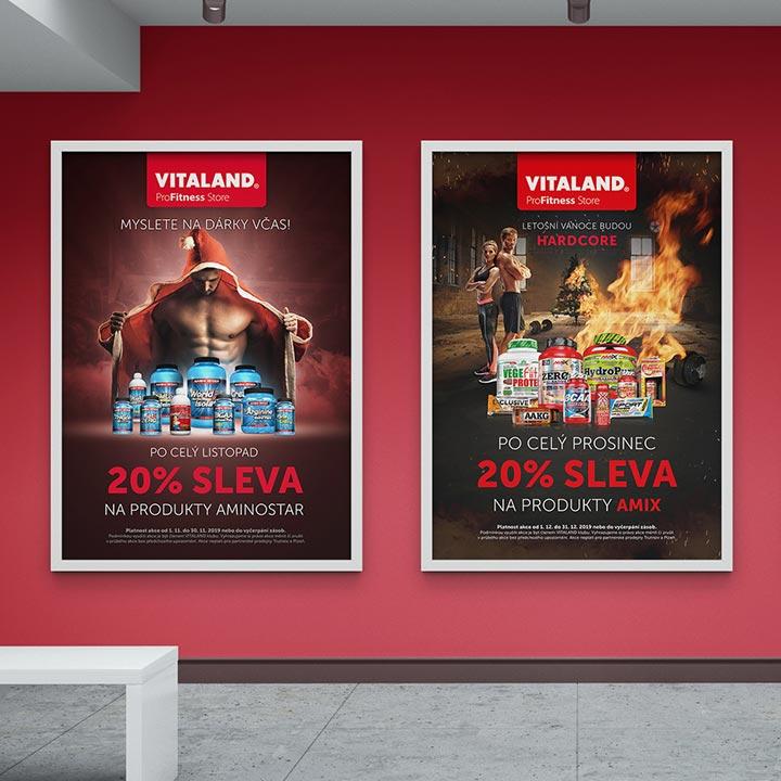 Akční plakáty Vitaland