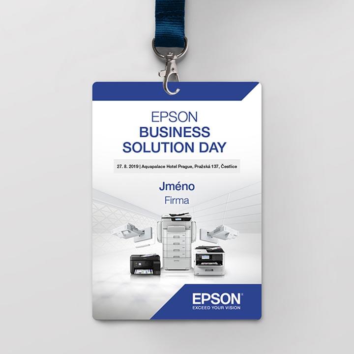 Různé práce pro firmu Epson