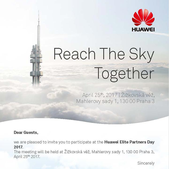 Huawei Reach The Sky Event
